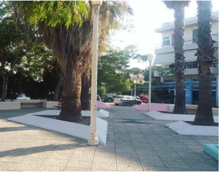 Το πάρκο επί της οδού Κοδριγκτώνος
