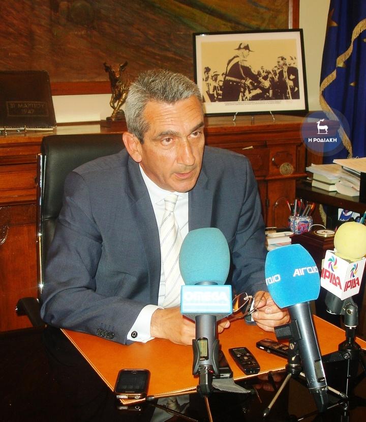 «Το νερό από το Φράγμα είναι σε άριστη κατάσταση», δήλωσε χθες ο Γιώργος Χατζημάρκος