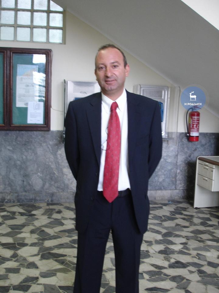 Ο δικηγόρος κ. Στέλιος Αλεξανδρής