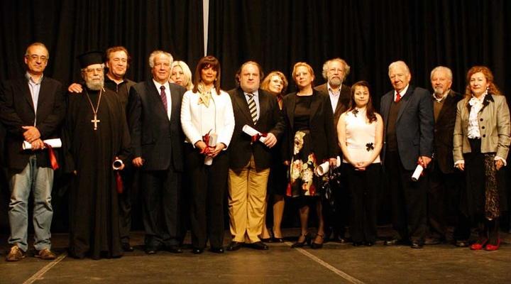 Βράβευση από το Σύνδεσμο Εκδοτών και το Κέντρο Πολιτισμού και Βιβλίου Νοτιοανατολικής Ευρώπης (14-4-2013)