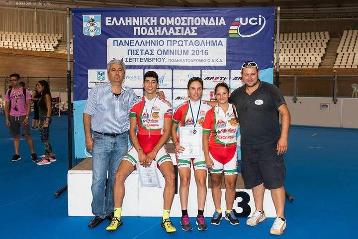 Επιτυχημένη ήταν η αποστολή του Ροδήλιου στο Ολυμπιακό Ποδηλατοδρόμιο