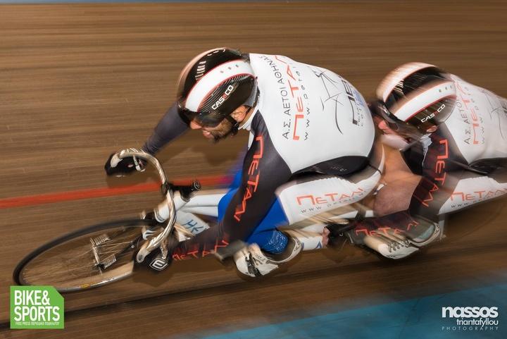 Μετά το στίβο, ο Θανάσης Μπαράκας είχε παρουσία και στην ποδηλασία