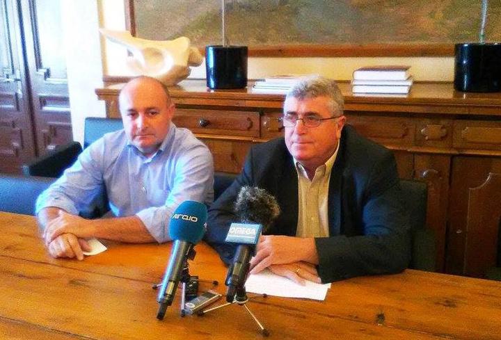 O κ. Ζαννετίδης με τον κ. Παυλονάσιο