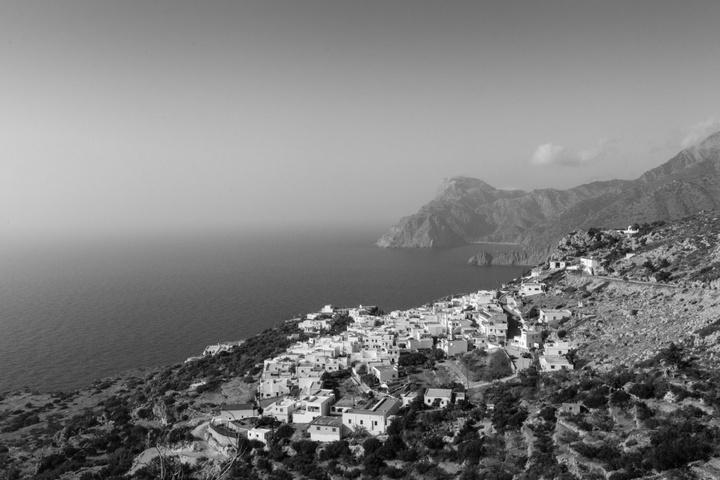 Το Μεσοχώρι από ψηλά. Φωτογραφία: Νάσος Ευσταθιάδης