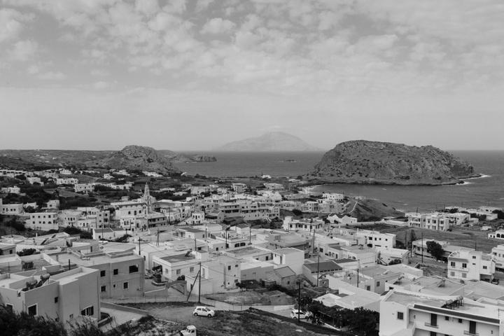 Πανοραμική άποψη της Αρκάσας και του Παλαιόκαστρου.