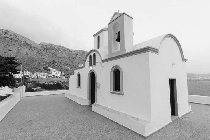 Ο Άγιος Νικόλαος στο Φοινίκι. Φωτογραφία: Νάσος Ευσταθιάδης