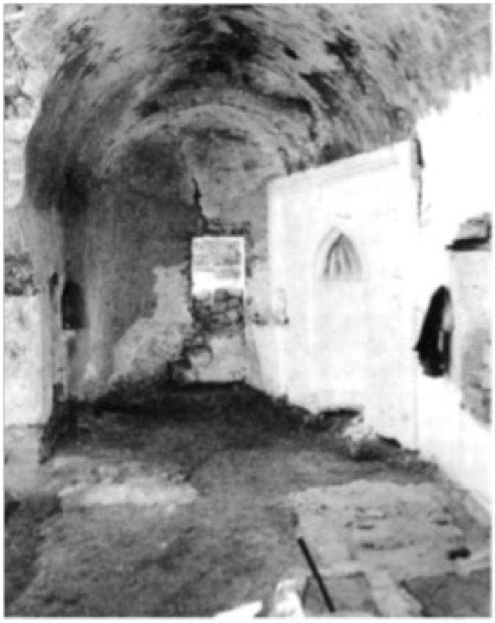 Ο Άγιος Νικόλαος πριν την αποκατάσταση