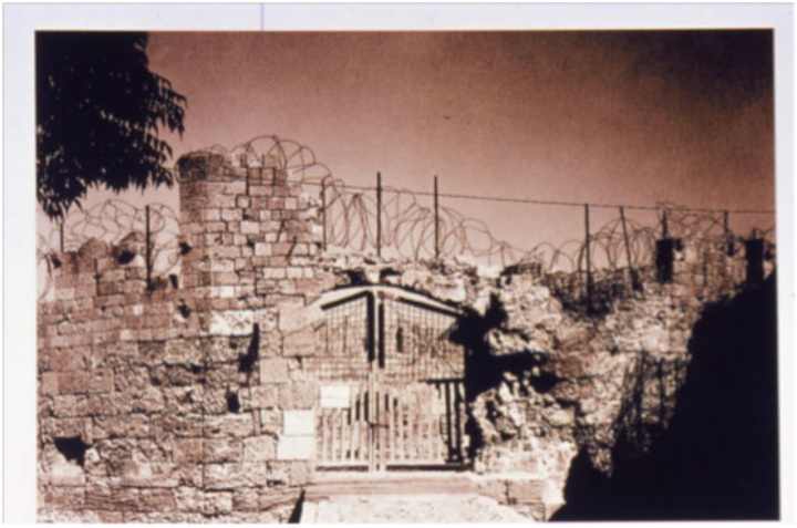 Πύλη Αγίου Παύλου, περίοδος πολέμου: στρατόπεδο συγκεντρώσεως