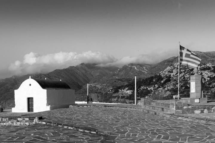 Το μνημείο πεσόντων στο Μεσοχώρι. Φωτογραφία: Νάσος Ευσταθιάδης