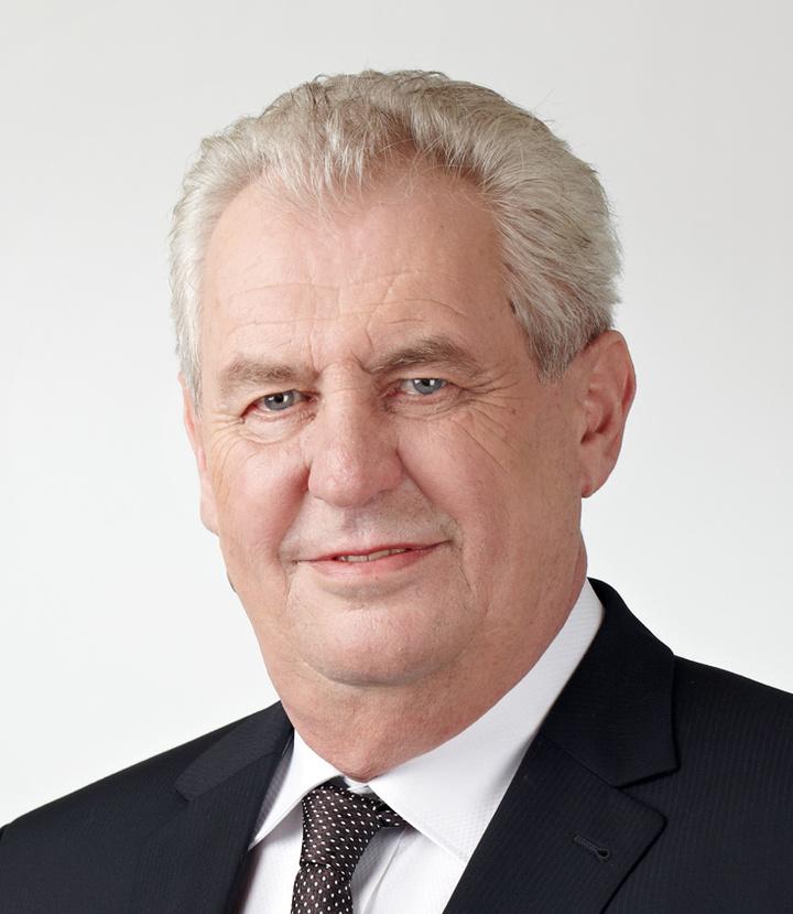 Ο πρόεδρος της Τσεχίας M. Zeman