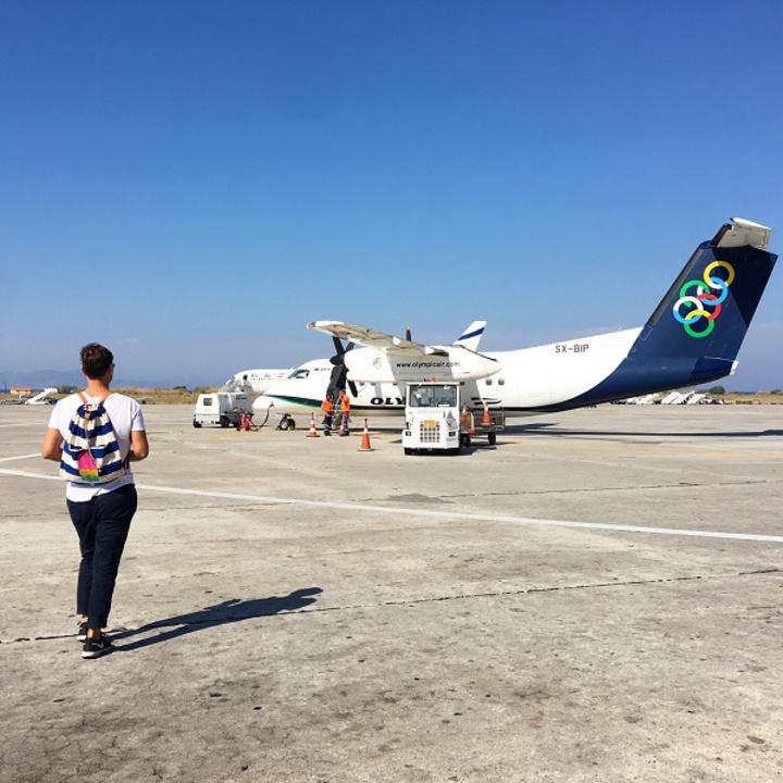 Η ομάδα της AtoZGreek  ταξίδεψε με Olympic Air