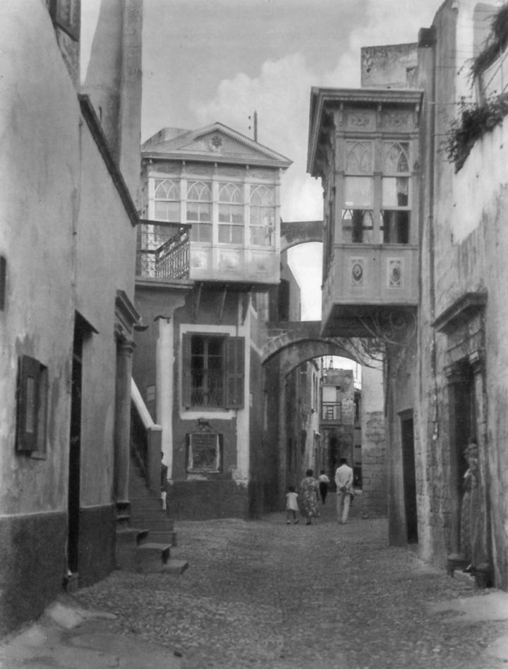 Εβραϊκή γειτονιά. Φωτογραφία του 1930