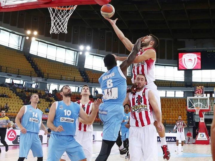 Ντροπιαστική χαρακτήρισε ο Γιάννης Γεωργαλλής την ήττα του Κολοσσού από τον Ολυμπιακό για το Κύπελλο Ελλάδας.