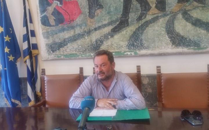 Ο Πρόεδρος της δ.κ. Ρόδου κ. Μιλτιάδης Παγκάς