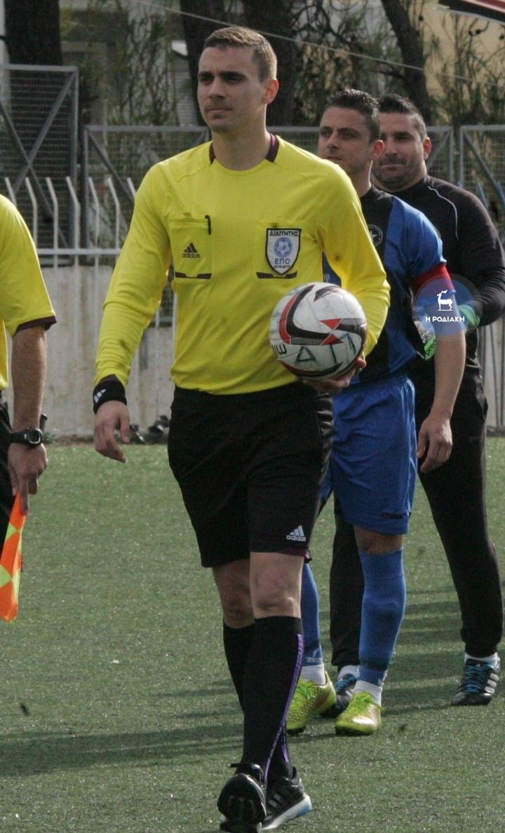 Ο Νίκος Δημαράκης θα σφυρίξει το σημερινό παιχνίδι στην Καρδάμαινα ΦΩΤΟ ΒΙΚΤΩΡ