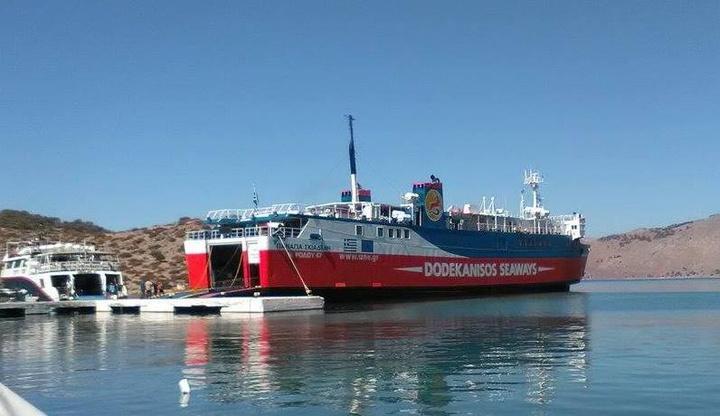 Το πλοίο στον Πανορμίτη, που και φέτος θα συγκεντρώσει χιλιάδες πιστούς