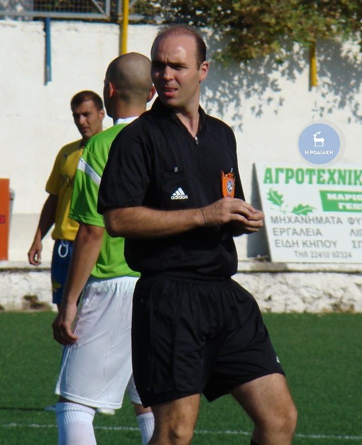 Ο Θωμάς Πατσιόπουλος ορίστηκε στο παιχνίδι του Αρχαγγέλου ΦΩΤΟ ΒΙΚΤΩΡ