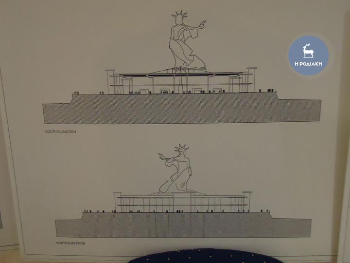 H δεύτερη πιο φιλόδοξη πρόταση για την κατασκευή του μνημείου