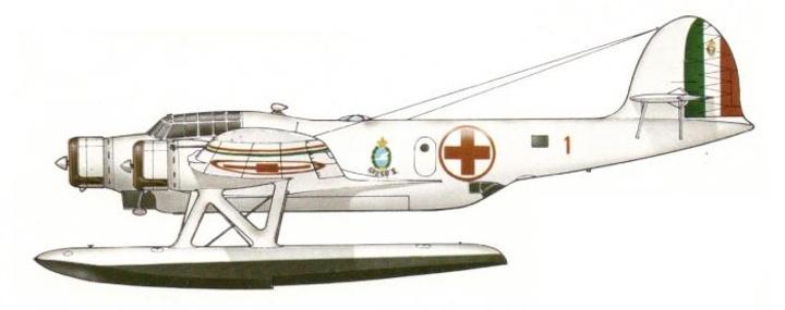 ΥΔΡΟΠΛΑΝΟ (SAR) τυπου CANT Z 506S AIRONE