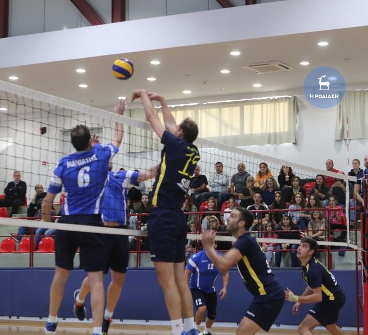 Το «Ροδίων Αθλησις» προκρίθηκε στην γ΄φαση του Κυπέλλου Ελλάδας. ΦΩΤΟ ΒΙΚΤΩΡ