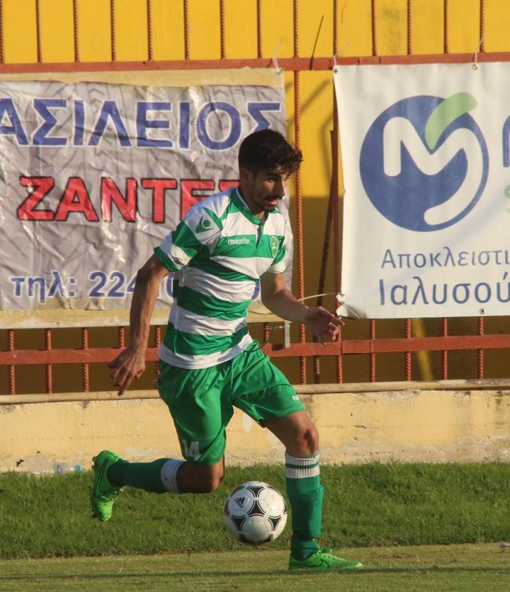 : Ο Χρήστος Αμανατίδης είναι αμφίβολος για τον αγώνα με τον Ηλυσιακό.