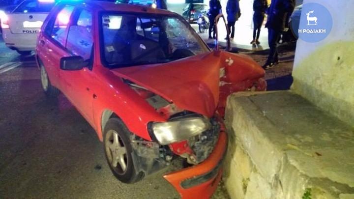 Συμβαίνει τώρα: Νέο τροχαίο ατύχημα σημειώθηκε στο κέντρο της Ρόδου