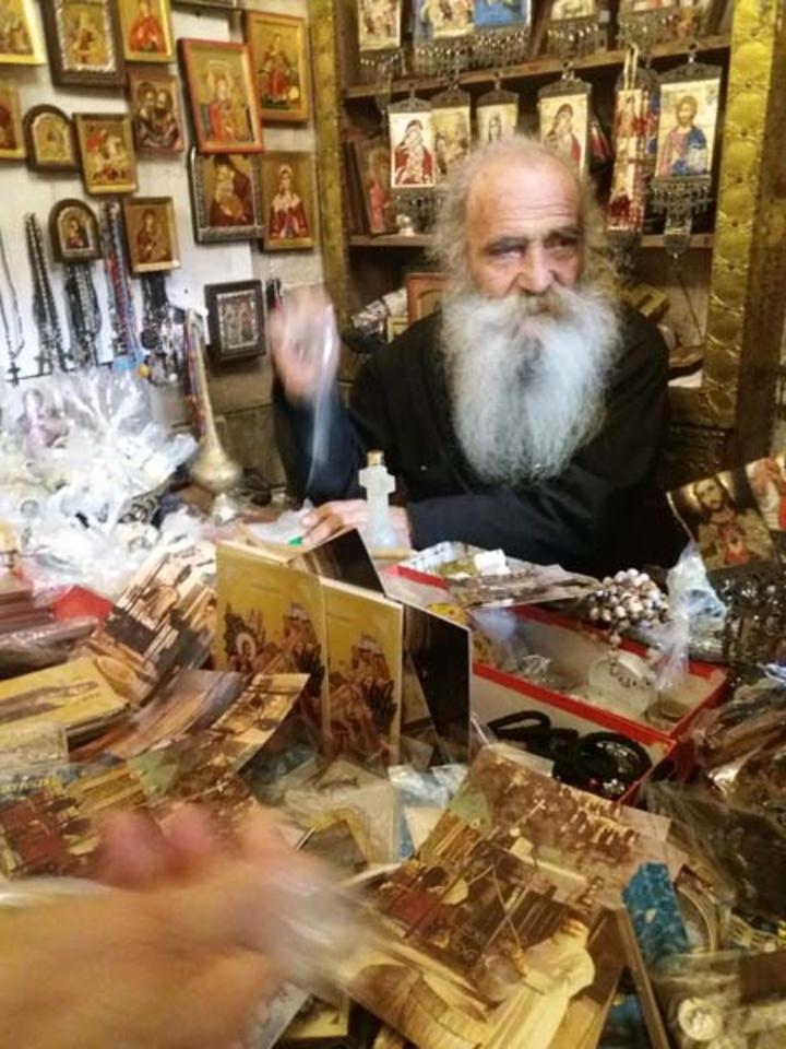Ο αγωνιστής παπάς του ναού στη Σαμάρεια