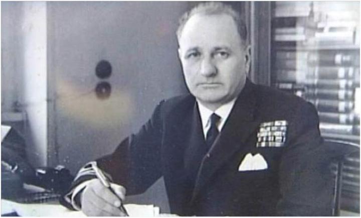 Ο Πάτμιος ναύαρχος Γρηγόρης Παυλάκης, ύπαρχος τότε της ελληνικής κορβέτας «Κριεζής» που συμμετείχε στην απόβαση στη Νορμανδία
