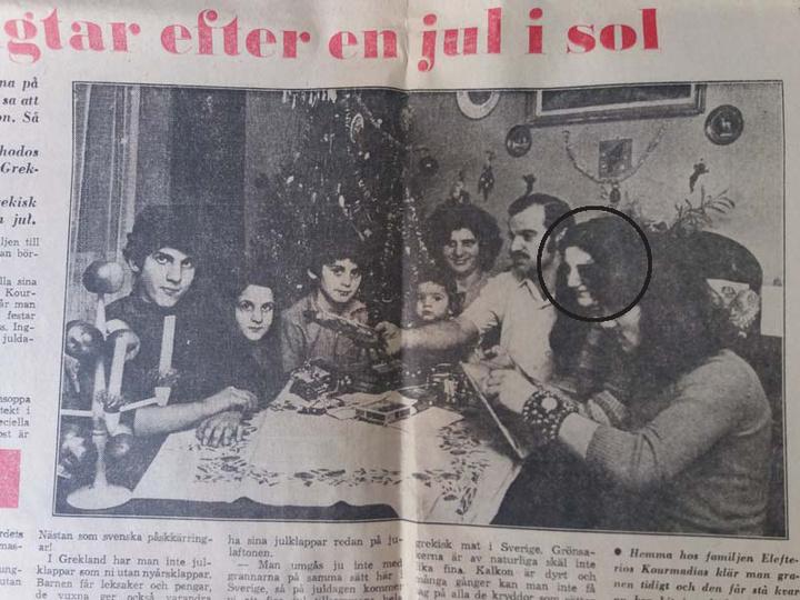 Και στα γενέθλια του χαμογελαστού κοριτσιού πήγαν οι δημοσιογράφοι στη Σουηδία όταν όλη η οικογένεια μετακόμισε εκεί.