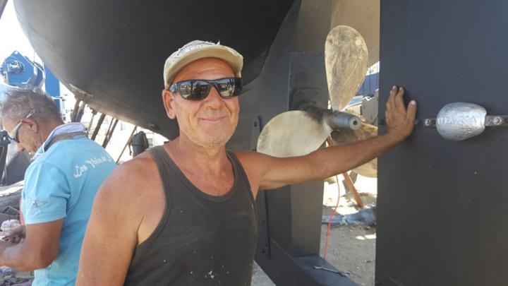 Υπερήφανος και δικαιωμένος δήλωσε ο Γιάννης Σαββάκης,  για την ολοκλήρωση της δημιουργίας αυτού του υπέροχου ιστιοφόρου, που ο πατέρας του ξεκίνησε να «χτίζει» πριν από 25 χρόνια