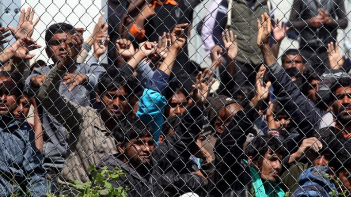 Ρόδος: Πρωινή αποβίβαση μεταναστών στην Αρχαία Κάμειρο
