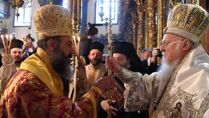 Η Χειροτονία του νέου Μητροπολίτου Σύμης στο Οικουμενικό Πατριαρχείο
