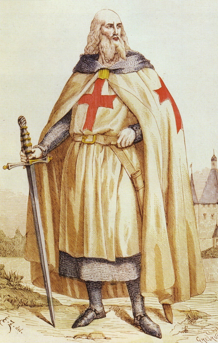 Jacques de Maloy was the last Grand Master of the Order