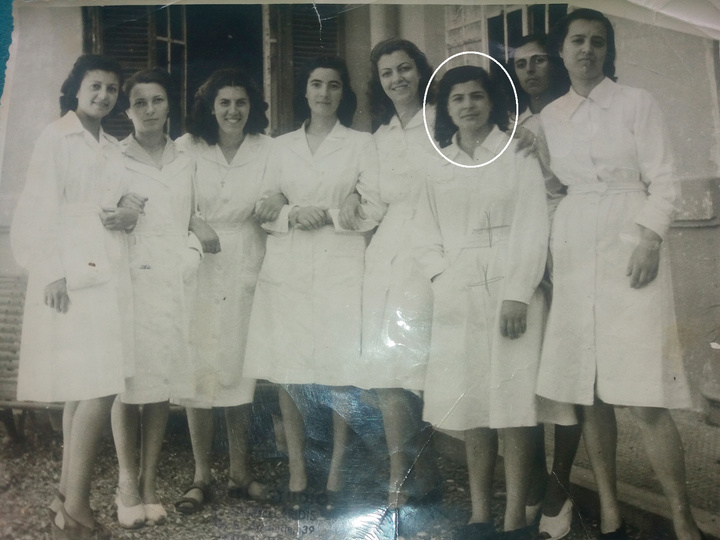 Ανάμεσα σε μαθητευόμενες μαίες στο νοσοκομείο της Ρόδου την περίοδο του πολέμου