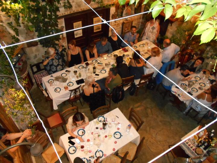 Στο εστιατόριο Angela Castle δείπνησαν το βράδυ του Σαββάτου