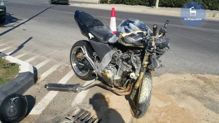 Θρήνος και πάλι στη Ρόδο: θανατηφόρο τροχαίο με θύμα ροδίτη μοτοσυκλετιστή
