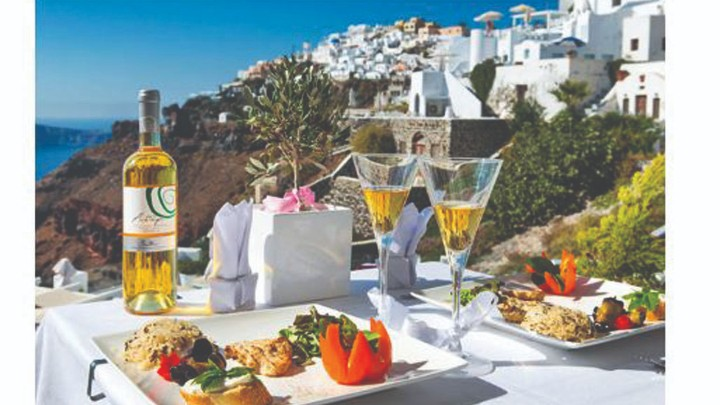 "The Gastronomy of the Southern Aegean Islands highlighted in the French newspaper ""Le Figaro"""