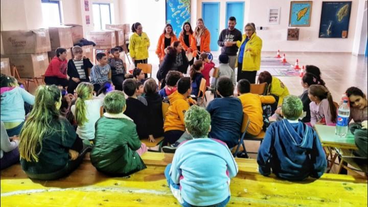 Εκπαιδευτικό πρόγραμμα της ΕΥΘΥΤΑ στο 1ο Δημοτικό Σχολείο Ιαλυσού
