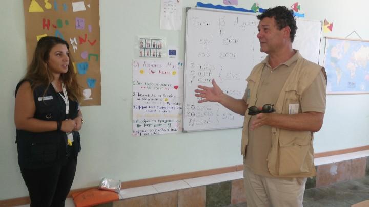 Τα Δωδεκάνησα επισκέφθηκε ο αντιπρόσωπος της Ύπατης Αρμοστείας του ΟΗΕ
