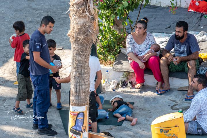 Οι ελάχιστοι αστυνομικοί που υπηρετούν στο νησί, καταβάλλουν υπεράνθρωπες προσπάθειες για να ανταποκριθούν  καλύτερα στην κατάσταση που επικρατεί