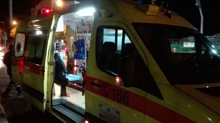 Σφοδρή σύγκρουση αυτοκινήτων απόψε στην Ιαλυσό