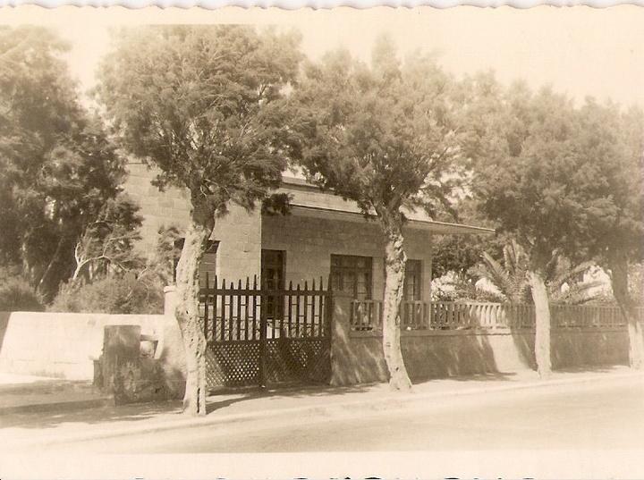 Το σπίτι του Αριστείδη Τριανταφύλλου στη Ρόδο, που έγινε στη συνέχεια το ξενοδοχείο