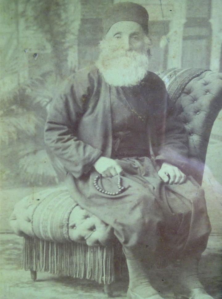 Ο Μιχάλης Τριανταφύλλου, γνωστός ως Διάκος γεννηθείς το 1821, στην Αλικαρνασσό