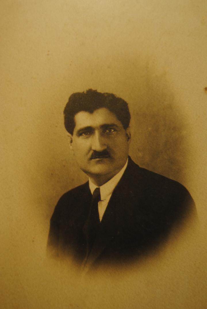 Ο Νικόλας Τριανταφύλλου, πατέρας του Γιώργου