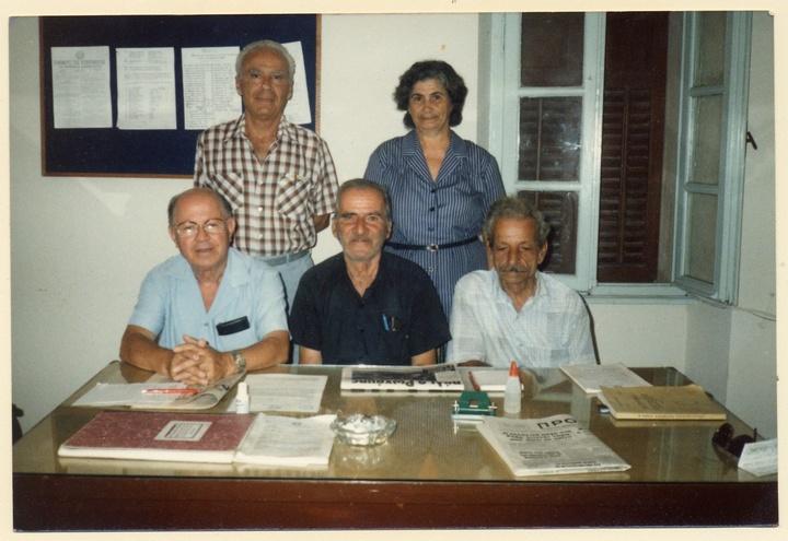 Ως μέλος του Δ.Σ. της Πανελλήνιες Ένωσης Αγωνιστών Εθνικής Αντίστασης-παράρτημα Δωδεκανήσου