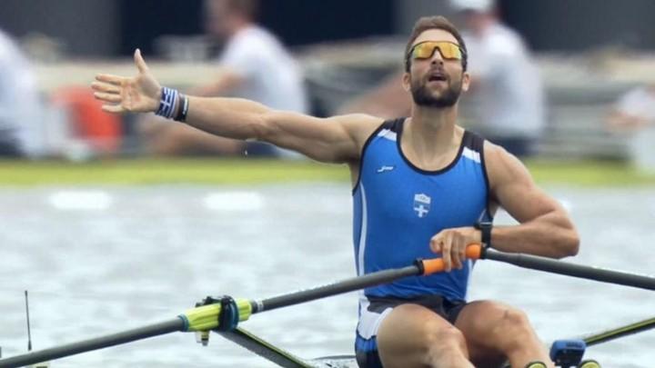 Χρυσός Ολυμπιονίκης ο Στέφανος Ντούσκος στην κωπηλασία | Η ΡΟΔΙΑΚΗ