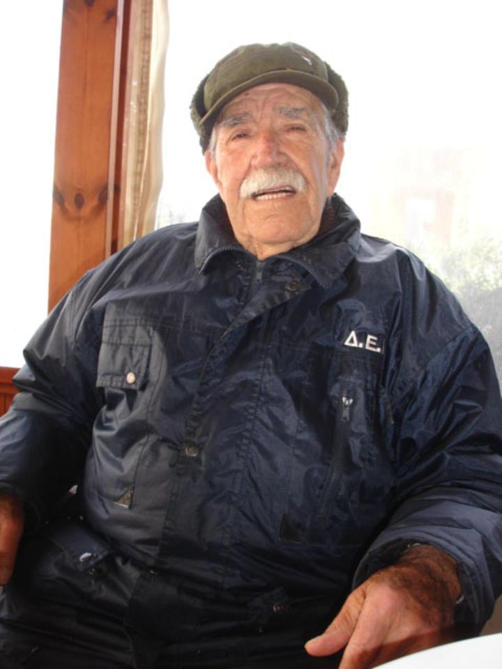Ο 86χρονος σήμερα Τζίμης Μαχραμάς